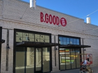 B Good Restaurant - Painted Sign