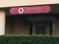 Carolinas Fertility Institute Sign