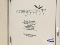 Door Vinyl for Crescent Garden
