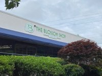 Exterior Building  Sign for The Blossom Shop