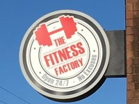 The Fitness Factory - Blade Sign