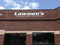 Lawmen's Sign - Sintra exterior sign letters painted