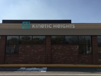 Kinetic Heights Exterior Sign