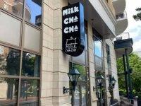 Milk Cha Cha of Charlotte -- Blade Sign