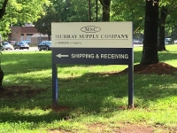 Murray Supply - Directional Sign