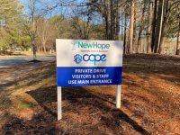 New Hope Clinic - Roadside/Directional Sign
