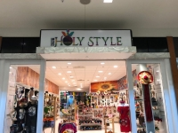 Our Holy Style Store Sign