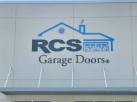 Acrylic, Dimensional Sign for RCS Garage Doors of Charlotte, NC