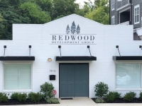 Redwood Development Group - Painted Sign