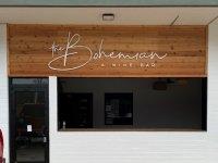 The Bohemian Wine Bar -- Exterior Acrylic Letters