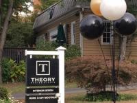 Theory Design Studio Sign