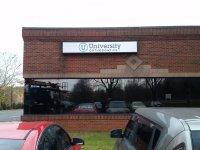 University Orthodontics Sign