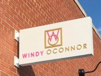 Windy O'Connor - Blade Sign on Building