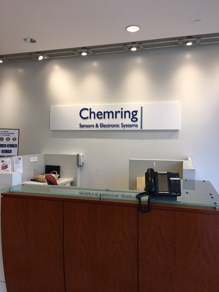 Chemring of Charlotte - Interior Feature Wall Sign