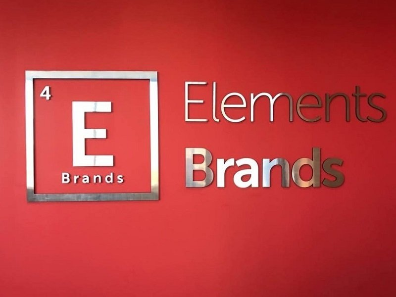 Elements Brands - Feature Wall Sign