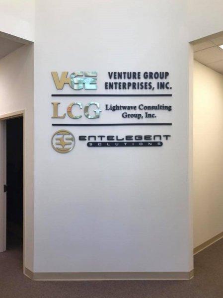 Entelegent Solutions Interior Sign