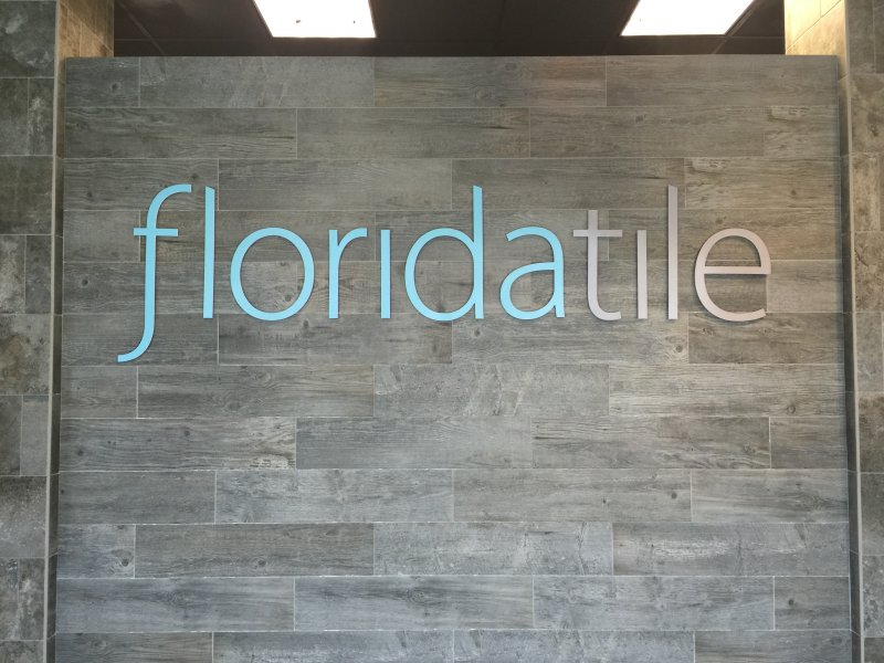 Florida Tile of Charlotte, North Carolina - Interior Acrylic Letters