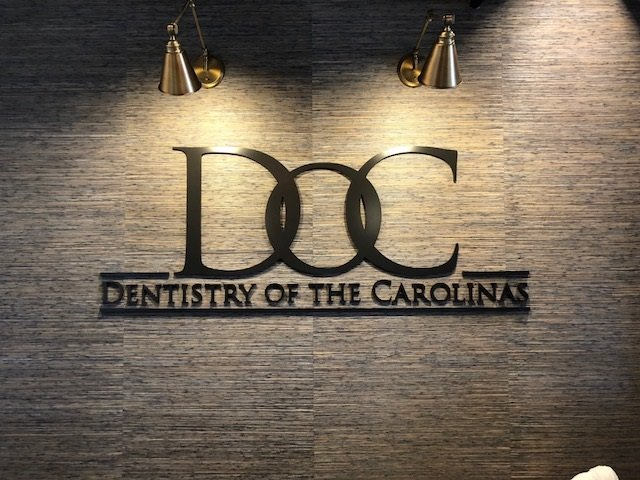 Dentistry of the Carolinas - Interior Wall Sign