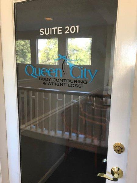 Queen City Body Contouring - Door Vinyl