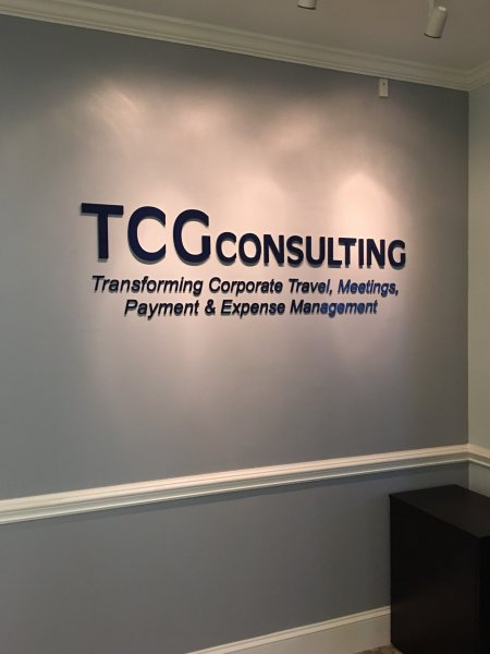 TCG Consulting of Charlotte - Interior Feature Wall Sign 1