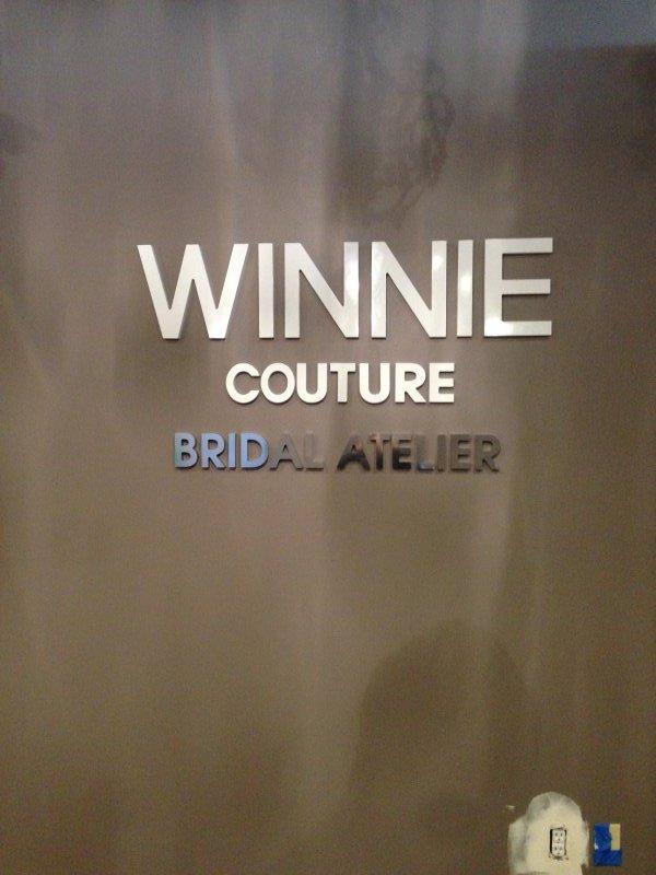 Winnie Couture Interior Sign