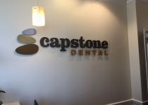Capstone Dental of Charlotte - Lobby Sign