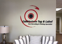 Cobblestone Tag and Label Sign