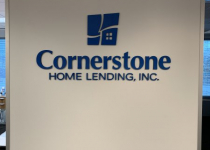 Cornerstone Home Lending Sign