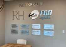 FGO Logictics - Interior Signage