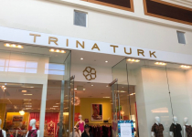 Mall Store Signage for TRINA TURK of CHARLOTTE