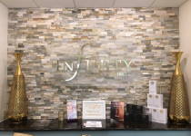 Infinity MedSpa Interior Sign