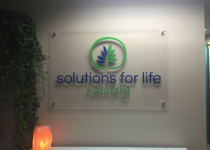Solutions for Life - Interior Office Sign
