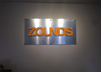 Interior Feature Wall Sign for Zounds Hearing Aids - Pineville, NC
