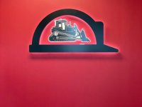 Halo-Lit Feature Wall Sign for HGC of Charlotte