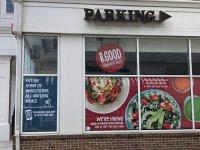 B Good Restaurant - Interior Round Logo Sign