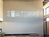 B Good Restaurant - Interior Vinyl Graphics