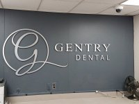 Gentry Dental - Interior Feature Wall Sign