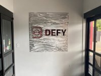 Defy Gravity - Interior Feature Wall Sign