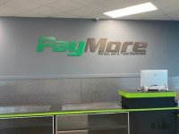 Paymore of Gastonia - Painted Acrylic Interior Sign