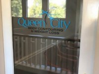 Queen City Body Contouring - Door Vinyl