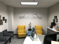 Shepard Law - Interior Feature Wall Sign