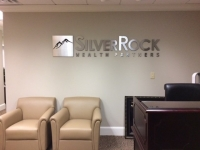 Silver Rock Wealth Partners of Charlotte - Interior Feature Wall Sign