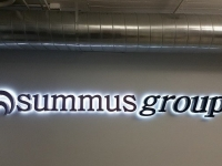 Summus Group Lobby Sign