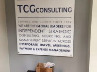 TCG Consulting of Charlotte - Interior Feature Wall Sign 2
