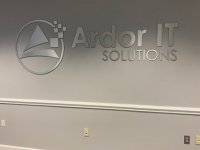 Ardor IT - Interior Feature Wall Sign