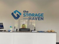 Painted Acrylic Feature Wall Sign for The Storage Haven of Charlotte
