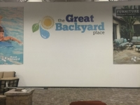 Interior Feature Wall Sign / Made of Acrylic