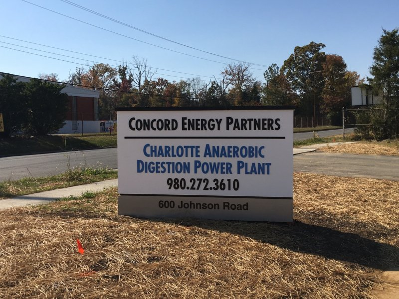 Concord Energy Partners Monument Sign