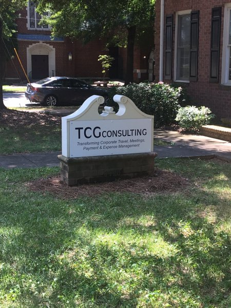 TCG Consulting - Two New Sign Panels for Exisiting Monument