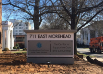 711 EAST MOREHEAD MONUMENT SIGN